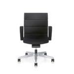Champ 1C62 Bürodrehstuhl schwarz, mit Armlehnen,Front