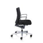 Champ 1C62 Bürodrehstuhl schwarz, mit Armlehnen,seitlich