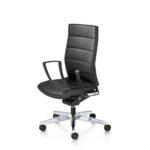 Champ 3C02 Bürodrehstuhl schwarz, mit Armlehnen, seitlich