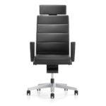 Champ 3C22 Bürodrehstuhl schwarz, mit Armlehnen,Front