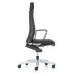 Champ 3C22 Bürodrehstuhl schwarz, mit Armlehnen,seitlich