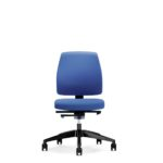 Goal 102G Bürodrehstuhl, ohne Armlehnen, blau, Front