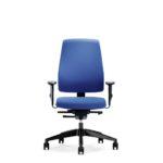 Goal 152G, Bürodrehstuhl, mit Armlehnen, blau, Front
