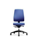 Goal 152G, Bürodrehstuhl, ohne Armlehnen, blau, Front