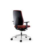 Goal 152GM, Bürodrehstuhl, mit Armlehnen, rot, Rückansicht