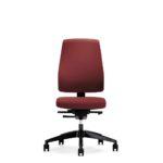 Goal 152GM, Bürodrehstuhl, ohne Armlehnen, rot
