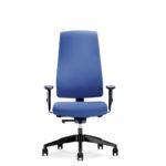Goal 302G, Bürodrehstuhl, mit Armlehnen, blau