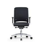 Xantos X262, Bürodrehstuhl, mit Armlehnen, schwarz, Front