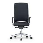 Xantos X362, Chefsessel, Bürodrehstuhl, mit Armlehnen, hoher Rücken, schwarz, Front